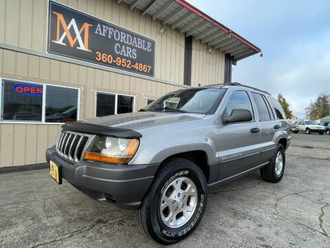 2001 Jeep Grand Cherokee for sale at M & A Affordable Cars in Vancouver WA