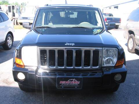 2008 Jeep Commander for sale at Ridetime Auto in Suffolk VA