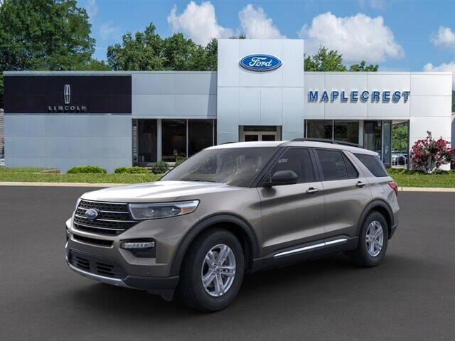 2021 Ford Explorer for sale at MAPLECREST FORD LINCOLN USED CARS in Vauxhall NJ