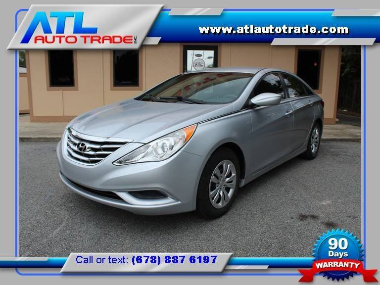 2012 Hyundai Sonata for sale at ATL Auto Trade, Inc. in Stone Mountain GA