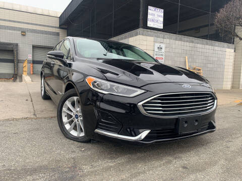 2019 Ford Fusion Hybrid for sale at O A Auto Sale in Paterson NJ