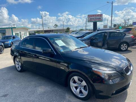 2007 BMW 5 Series for sale at Jamrock Auto Sales of Panama City in Panama City FL