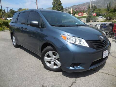 2016 Toyota Sienna for sale at ARAX AUTO SALES in Tujunga CA