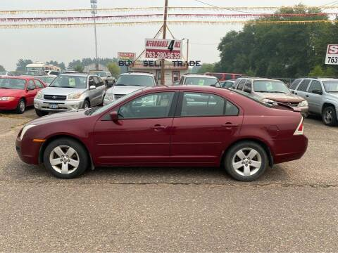 2007 Ford Fusion for sale at Affordable 4 All Auto Sales in Elk River MN