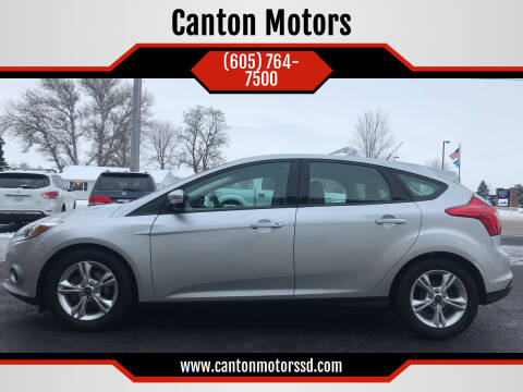 2014 Ford Focus for sale at Canton Motors in Canton SD