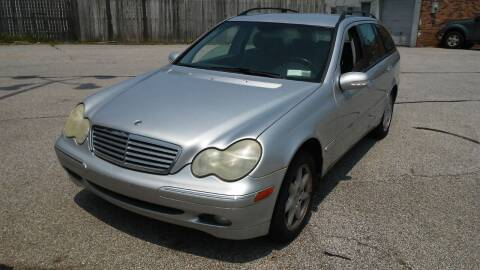 2003 Mercedes-Benz 240-Class for sale at USA AUTO WHOLESALE LLC in Cleveland OH