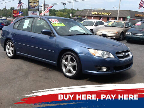 2008 Subaru Legacy for sale at Lancaster Auto Detail & Auto Sales in Lancaster PA