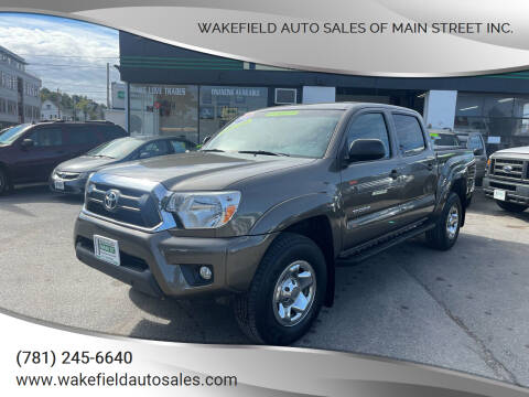 2015 Toyota Tacoma for sale at Wakefield Auto Sales of Main Street Inc. in Wakefield MA