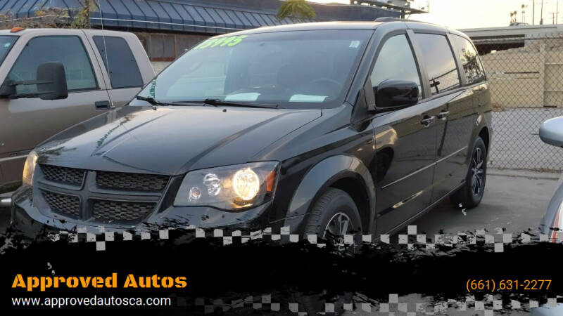 2017 Dodge Grand Caravan for sale at Approved Autos in Bakersfield CA