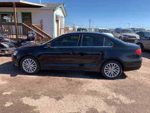 2014 Volkswagen Jetta for sale at PYRAMID MOTORS - Fountain Lot in Fountain CO