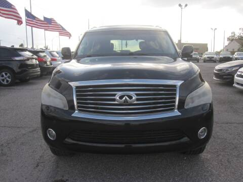 2012 Infiniti QX56 for sale at T & D Motor Company in Bethany OK