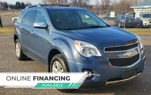 2012 Chevrolet Equinox for sale at Transmart Autos in Zimmerman MN