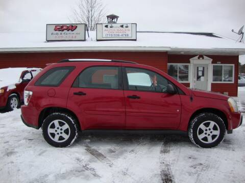 2006 Chevrolet Equinox for sale at G and G AUTO SALES in Merrill WI