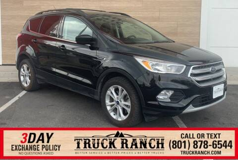 2017 Ford Escape for sale at Truck Ranch in American Fork UT