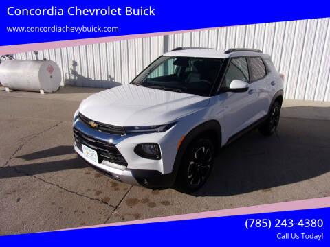 2021 Chevrolet TrailBlazer for sale at Concordia Chevrolet Buick in Concordia KS