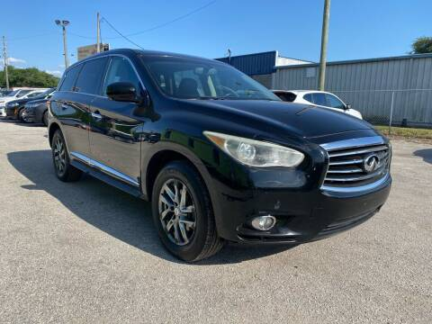 2013 Infiniti JX35 for sale at Marvin Motors in Kissimmee FL