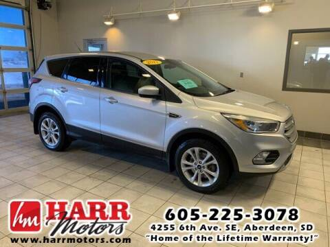 2017 Ford Escape for sale at Harr Motors Bargain Center in Aberdeen SD