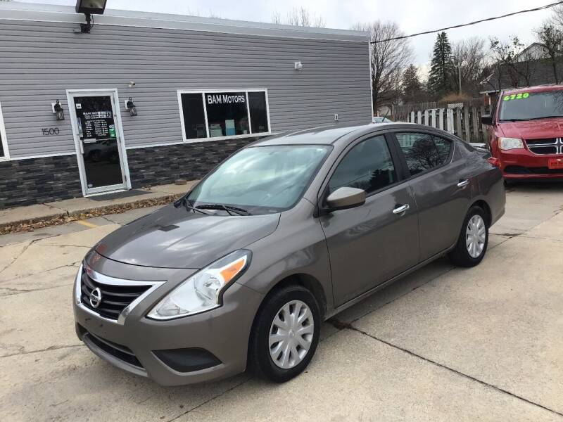 2015 Nissan Versa for sale at Bam Motors in Dallas Center IA