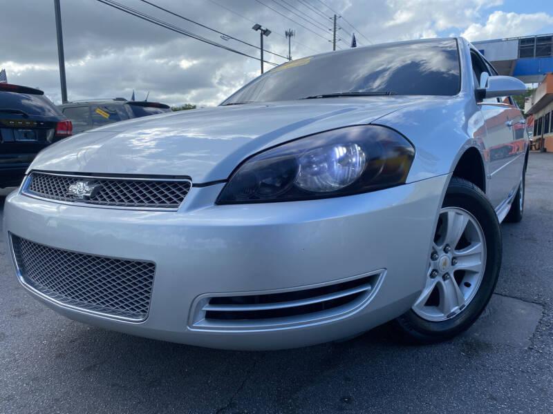 2012 Chevrolet Impala for sale at LATINOS MOTOR OF ORLANDO in Orlando FL