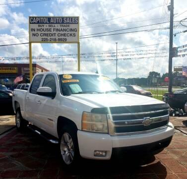 2007 Chevrolet Silverado 1500 for sale at CAPITOL AUTO SALES LLC in Baton Rouge LA