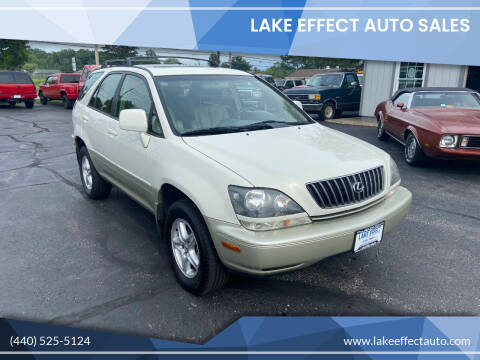 1999 Lexus RX 300 for sale at Lake Effect Auto Sales in Chardon OH