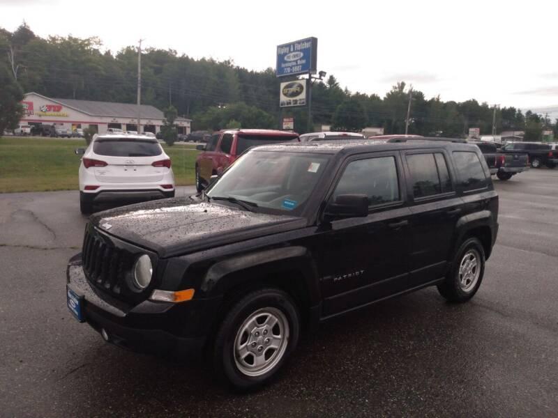 2017 Jeep Patriot for sale at Ripley & Fletcher Pre-Owned Sales & Service in Farmington ME