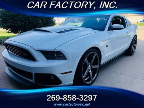 2014 Ford Mustang for sale at Car Factory Inc. in Three Rivers MI