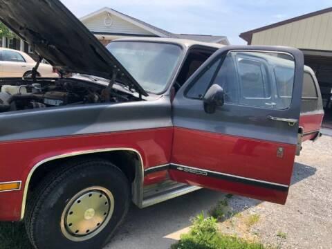1991 Chevrolet Suburban for sale at Classic Car Deals in Cadillac MI