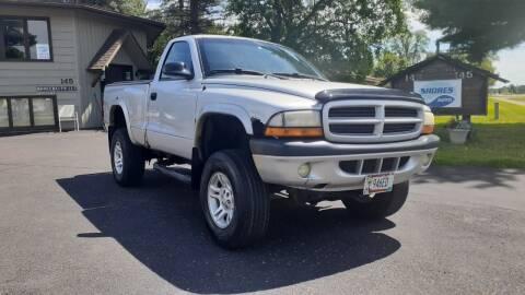2001 Dodge Dakota for sale at Shores Auto in Lakeland Shores MN