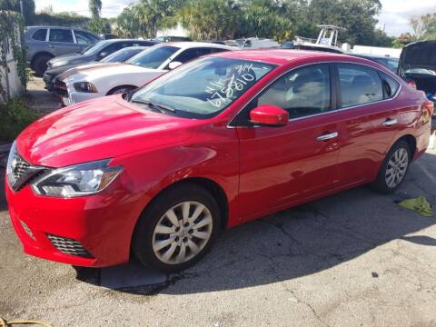2017 Nissan Sentra for sale at Castle Used Cars in Jacksonville FL