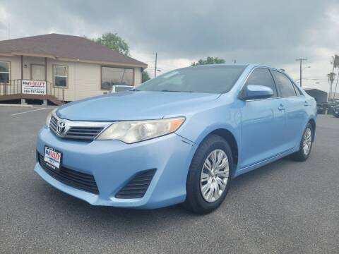 2012 Toyota Camry for sale at Mid Valley Motors in La Feria TX