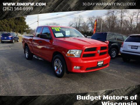 2012 RAM Ram Pickup 1500 for sale at Budget Motors of Wisconsin in Racine WI