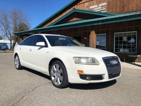 2005 Audi A6 for sale at Coeur Auto Sales in Hayden ID