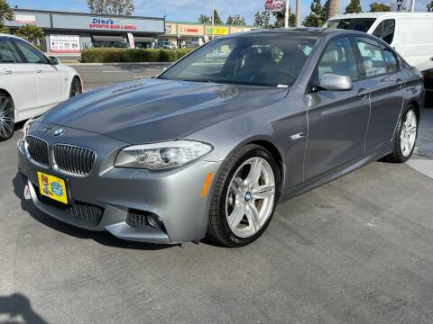 2013 BMW 5 Series for sale at CARSTER in Huntington Beach CA