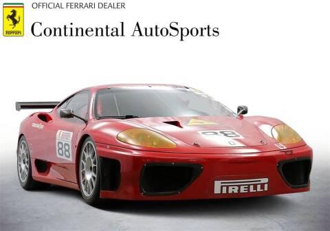 2002 Ferrari 360 Modena for sale at CONTINENTAL AUTO SPORTS in Hinsdale IL