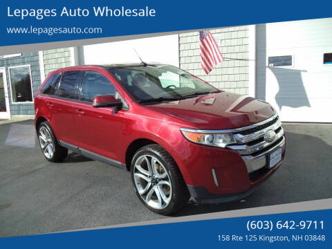 2013 Ford Edge for sale at Lepages Auto Wholesale in Kingston NH