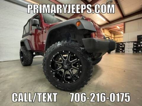 2013 Jeep Wrangler for sale at Primary Auto Group in Dawsonville GA