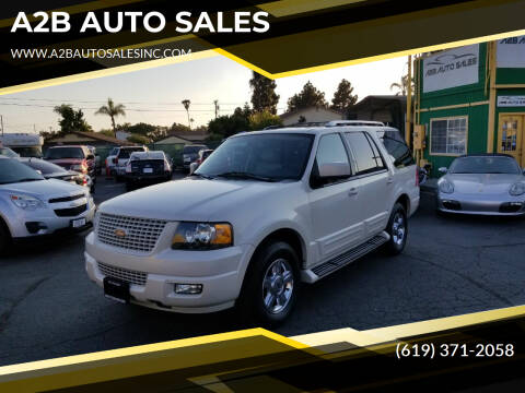 2006 Ford Expedition for sale at A2B AUTO SALES in Chula Vista CA