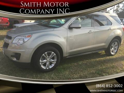 2013 Chevrolet Equinox for sale at Smith Motor Company INC in Mc Cormick SC