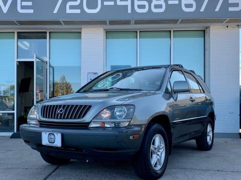 2000 Lexus RX 300 for sale at Shift Automotive in Denver CO