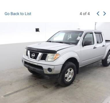 2006 Nissan Frontier for sale at Bates Auto & Truck Center in Zanesville OH