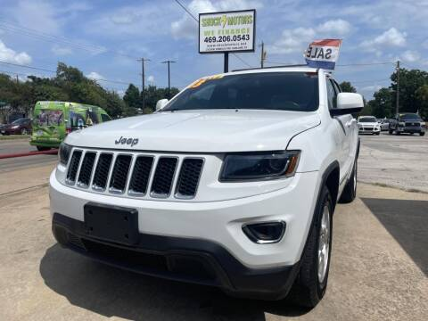 2014 Jeep Grand Cherokee for sale at Shock Motors in Garland TX