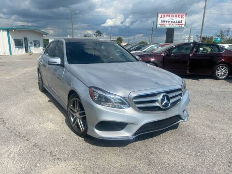 2014 Mercedes-Benz E-Class for sale at Jamrock Auto Sales of Panama City in Panama City FL