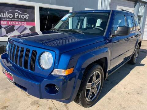 2010 Jeep Patriot for sale at AutoPros - Waterloo in Waterloo IA