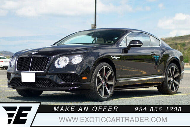 2017 Bentley Continental for sale in Fort Lauderdale, FL