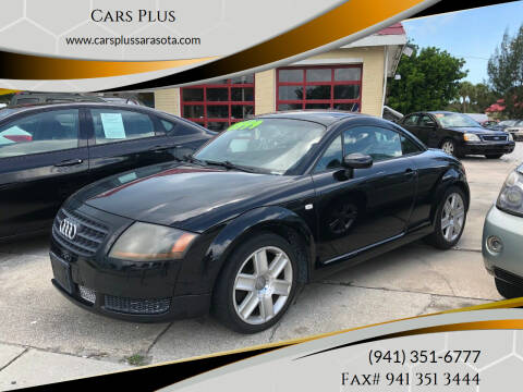 2005 Audi TT for sale at Cars Plus in Sarasota FL