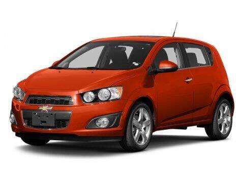 2013 Chevrolet Sonic for sale at DAVID McDAVID HONDA OF IRVING in Irving TX