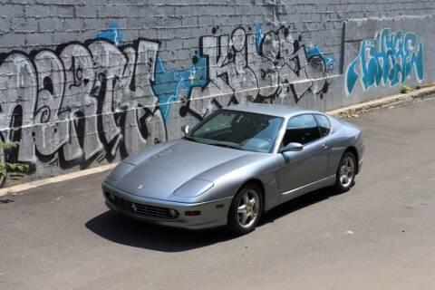 2001 Ferrari 456 GTA for sale at Gullwing Motor Cars Inc in Astoria NY