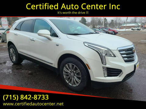2017 Cadillac XT5 for sale at Certified Auto Center Inc in Wausau WI