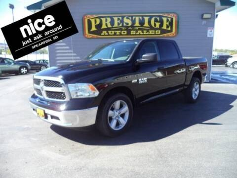 2018 RAM Ram Pickup 1500 for sale at PRESTIGE AUTO SALES in Spearfish SD